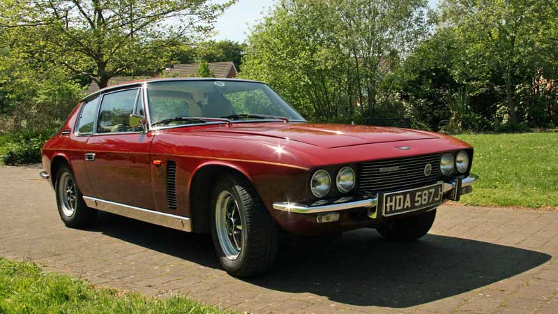 Jensen Interceptor Hire Yorkshire