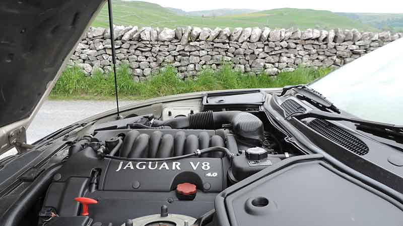 Jaguar-north-Yorkshire-engine