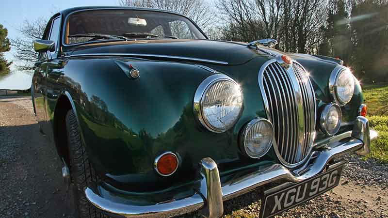 Jaguar MKII hire Leeds