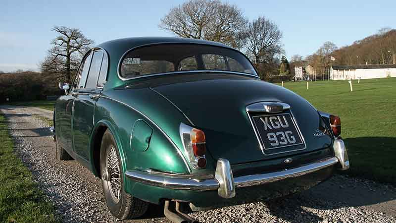 Jaguar MKII hire Yorkshire