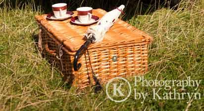 Classic car hire picnics