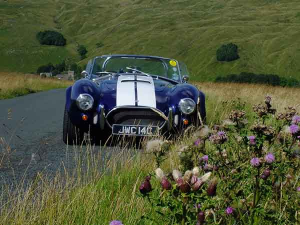 classic car hire film and TV