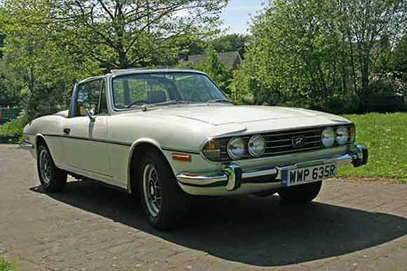 Triumph Stag Hire Yorkshire