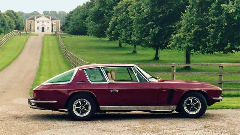 Jensen Interceptor Hire