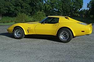 Corvette hire