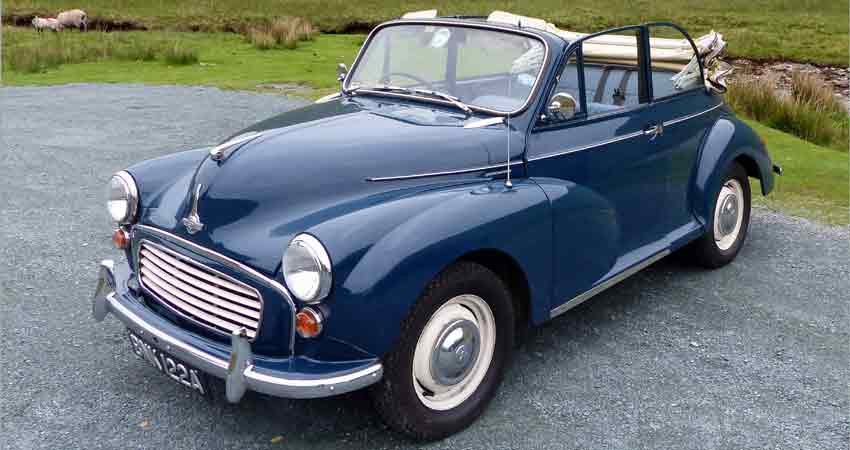 Morris Minor Hire North West