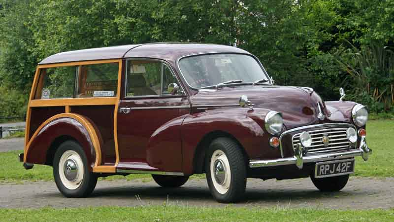 Morris Minor Traveller Hire