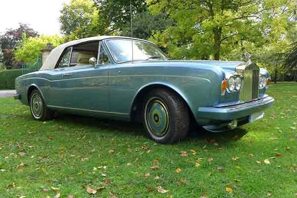 Rolls Royce hire Yorkshire