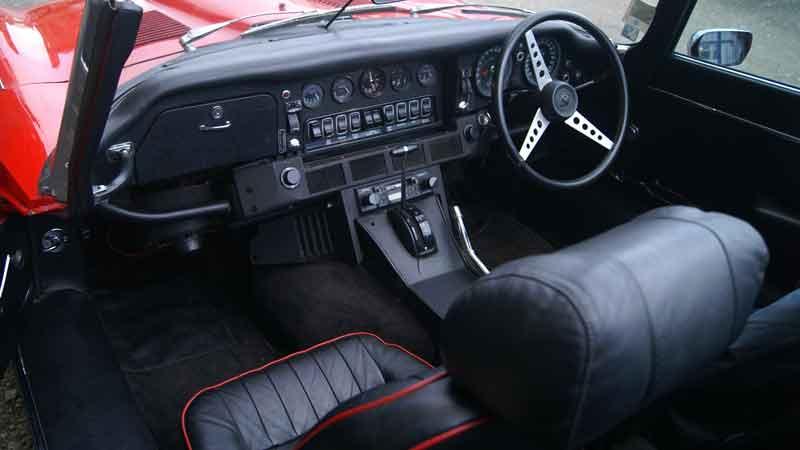 E Type Jaguar Hire
