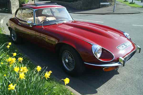 Jaguar E Type Hire