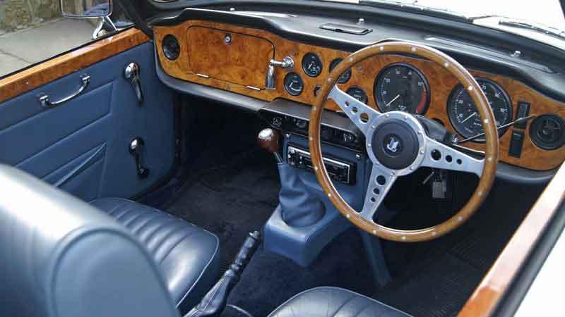 Triumph TR6 Hire Lancashire
