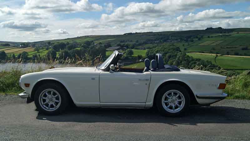 Triumph TR6 Hire North West