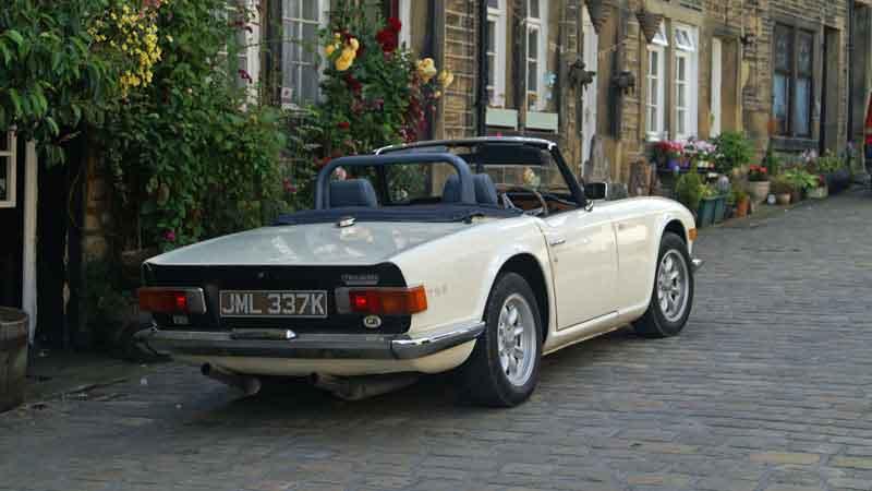 Triumph TR6 Hire