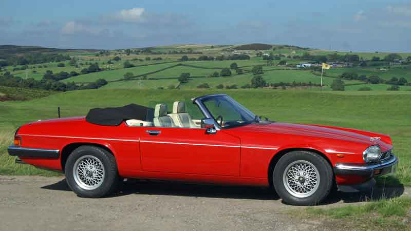 Jaguar XJS Hire