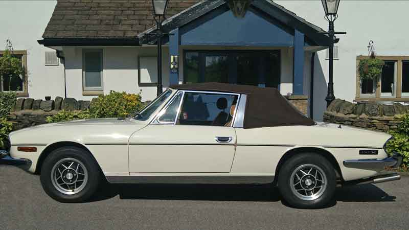 Triumph Stag Hire North West