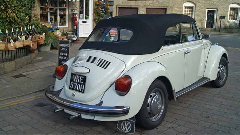 VW beetle hire lancashire