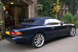 Aston Martin DB7 convertible