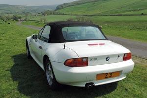 BMW Z3 sports car