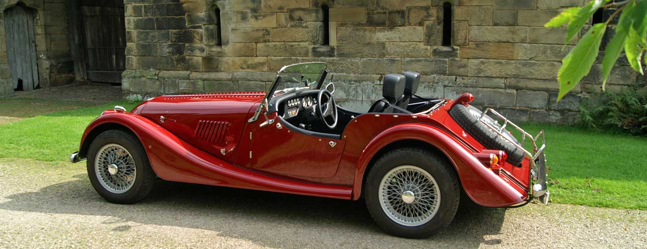 Morgan classic car hire