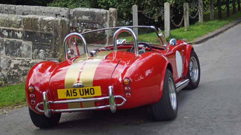 AC Cobra - hire one for touring the North West of England