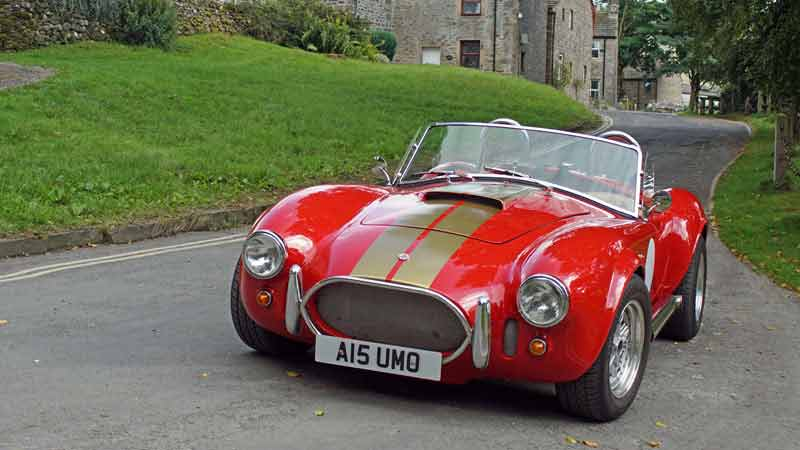 AC Cobra driving experience in the Yorkshire Dales