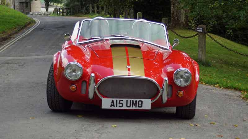 AC Cobra V6 for hire in West Yorkshire