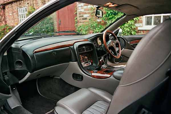 Silver Aston Martin rental