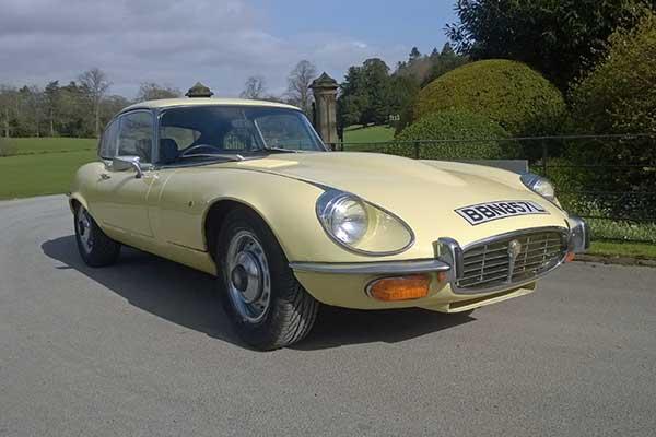 E-type Jaguar driving experience