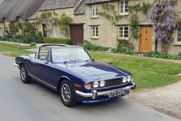 classic car hire near North London