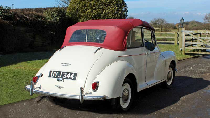 Hire a Morris Minor to tour the North York Moors