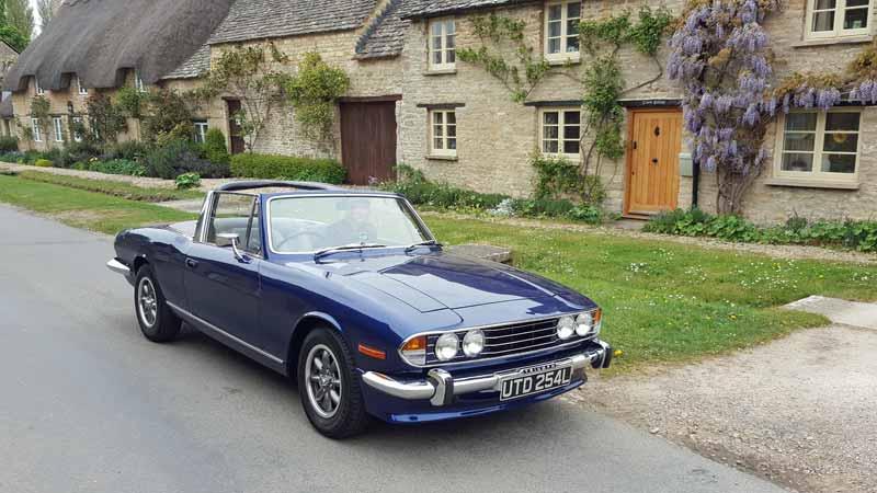 Triumph Stag Hire Oxfordshire