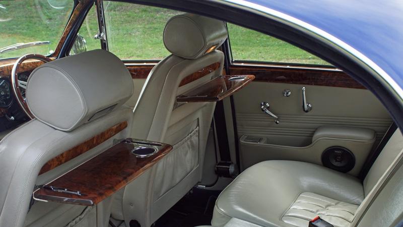 Classic Jaguar interior