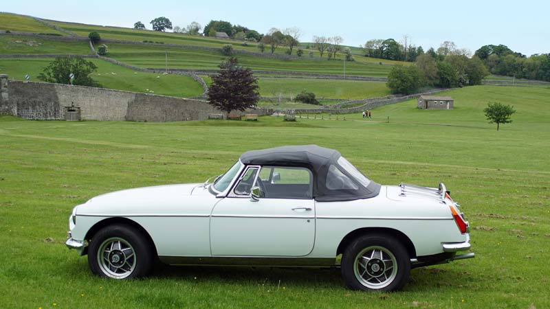 Hire an MGB for a great day out