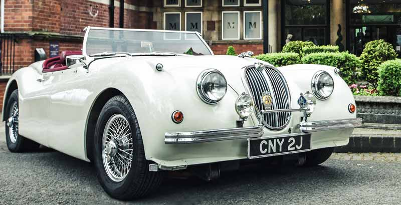 Jaguar-XK120-wedding