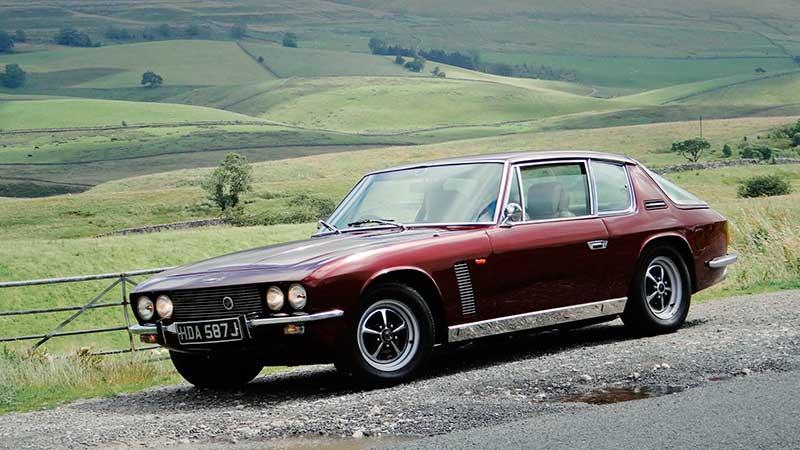 Jensen classic car