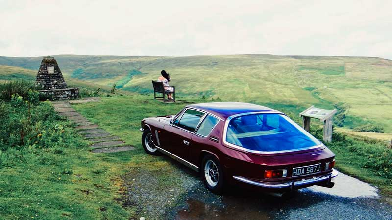 Jensen Interceptor for a nostalgic day out