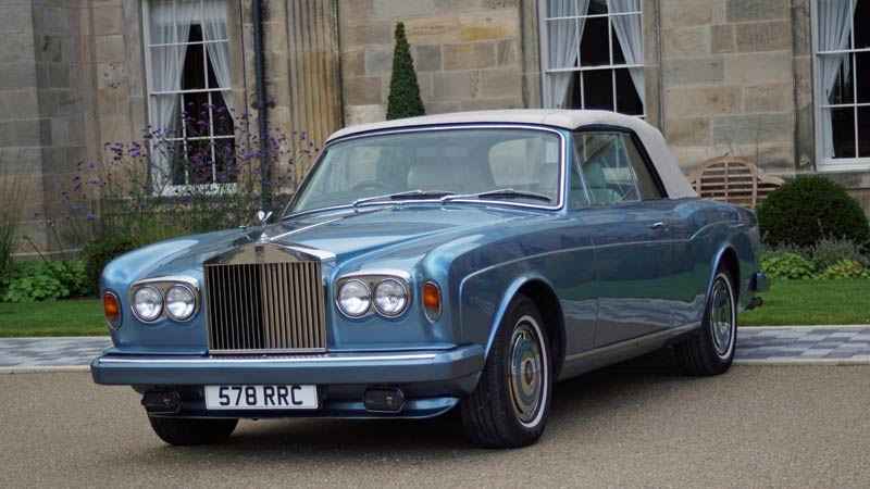Hire a self-drive Rolls Royce for great days out or weddings