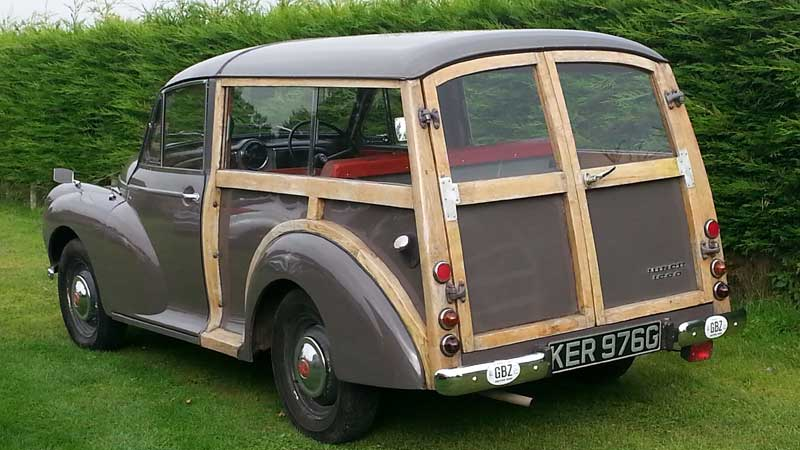 Morris Monor Traveller Woody